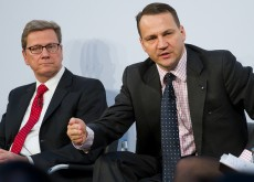 Radosław Sikorski in Berlin. Image courtesy of the Polish Ministry of Foreign Affairs Flickr.
