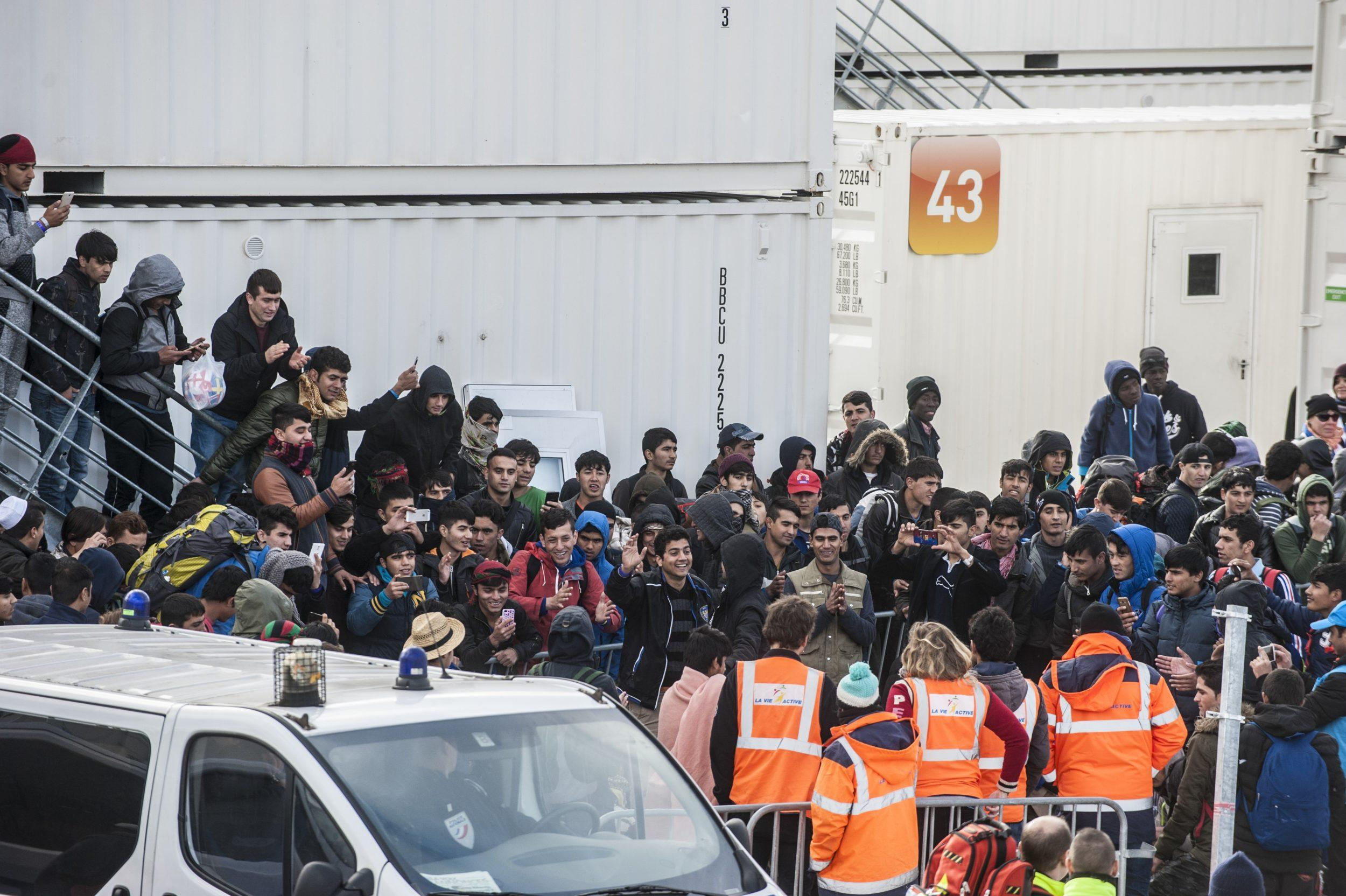 Macron is blaming the UK for Europe's migrant problem